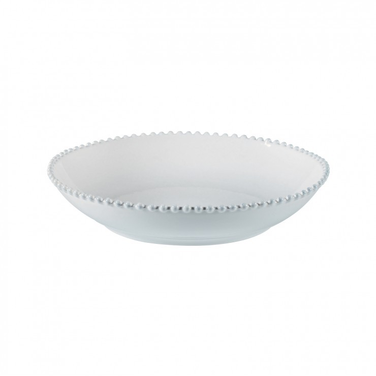 "PASTA/SERVING BOWL 14"" PEARL"