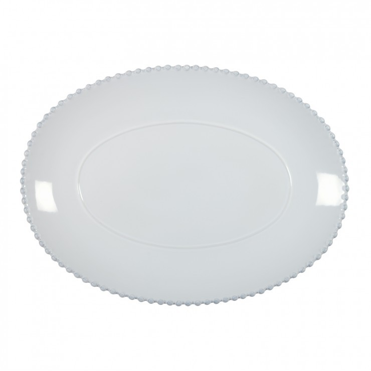 "PEARL 15 3/4"" OVAL PLATTER"