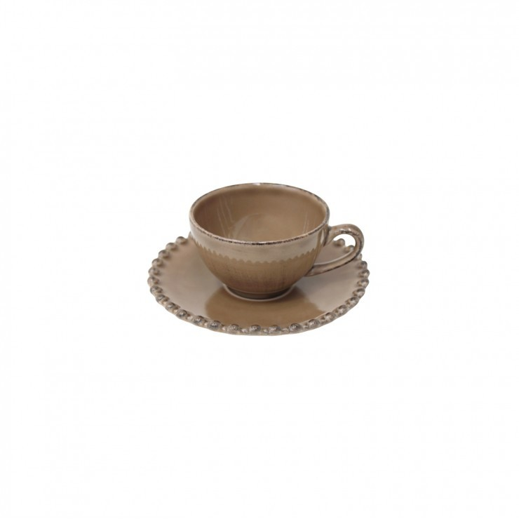 PEARL COFFEE CUP & SAUCER