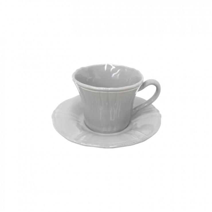 VILLAGE TEA CUP & SAUCER