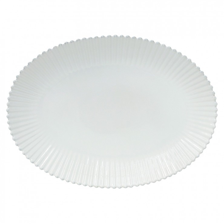 "OVAL PLATTER 20"" PEARL"