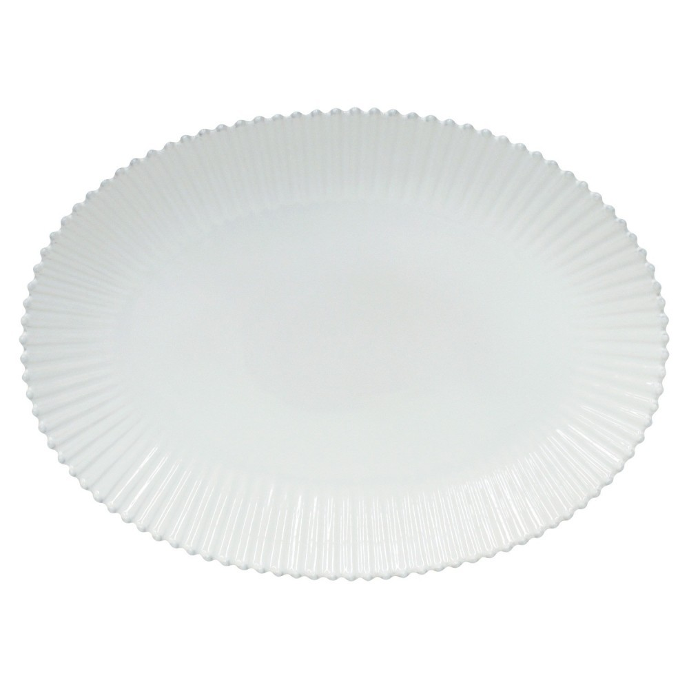 PEARL OVAL PLATTER 20""