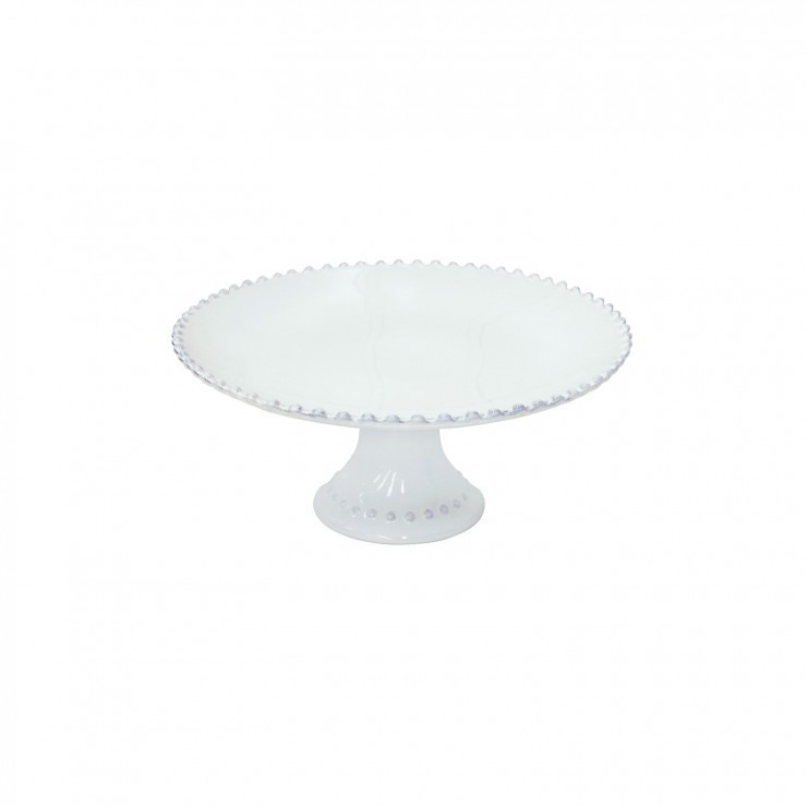 "FOOTED PLATE 11"" PEARL"