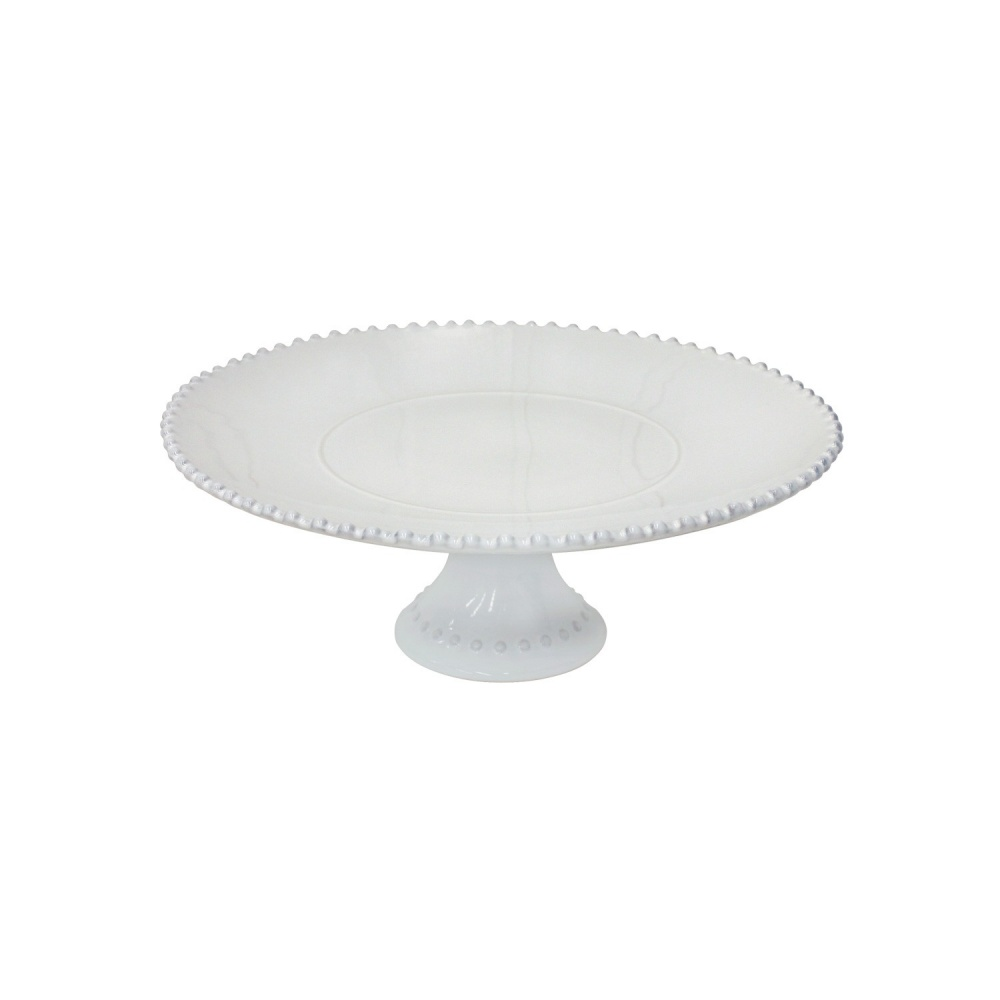 "PEARL 13"" FOOTED PLATE"