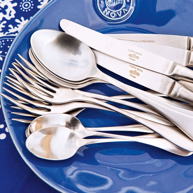 ANTIGO FLATWARE SET 130 PCS. - BRUSHED