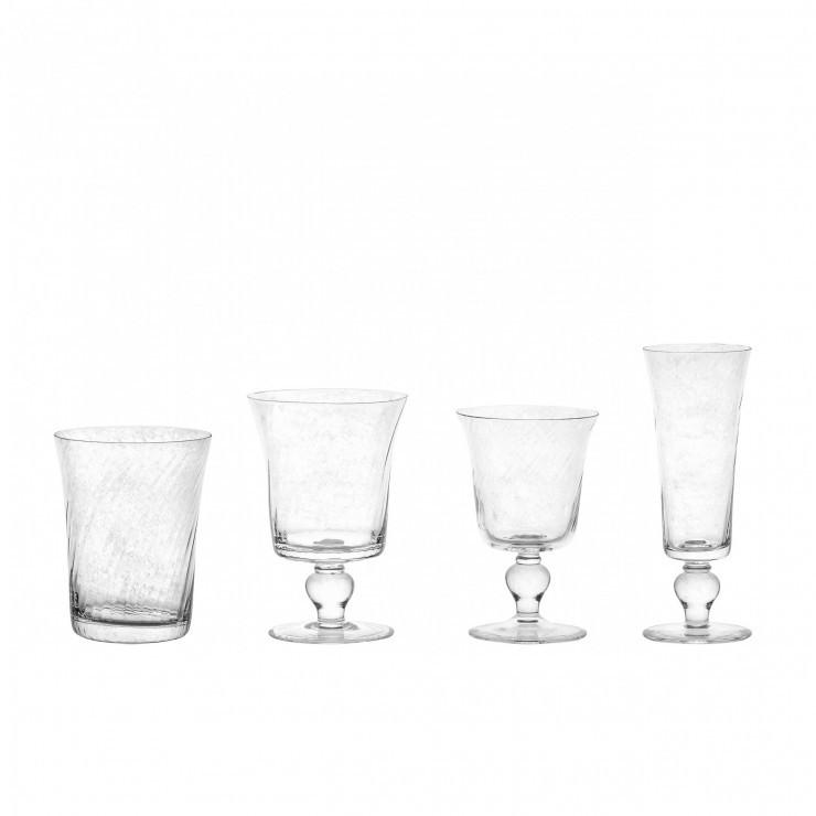 ESPIRAL WATER GLASS 385 ML