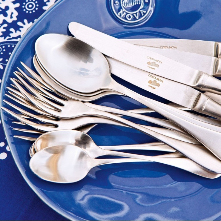ANTIGO FLATWARE 20 PCS - BRUSHED