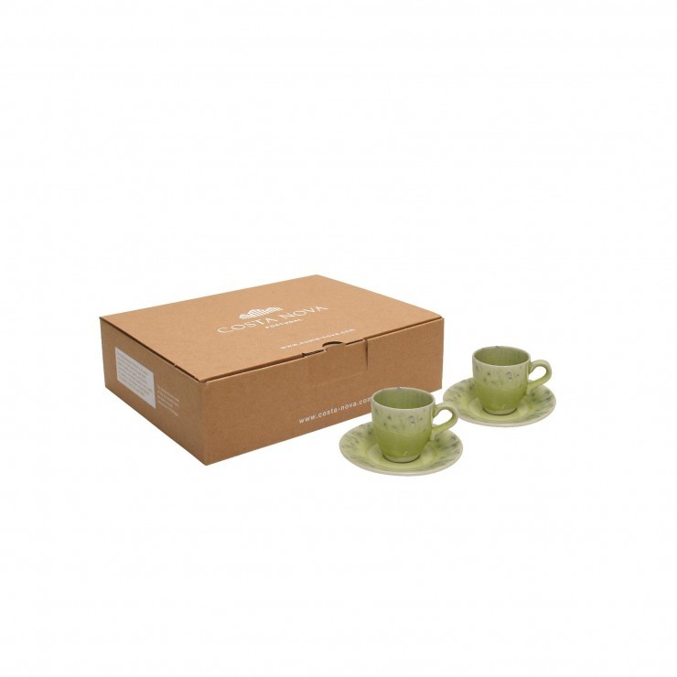 MADEIRA 2 COFFEE CUPS & SAUCER GIFT BOX