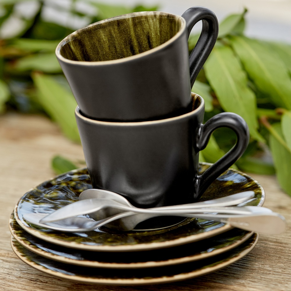 RIVIERA 4 COFFEE CUPS & SAUCER GIFT BOX