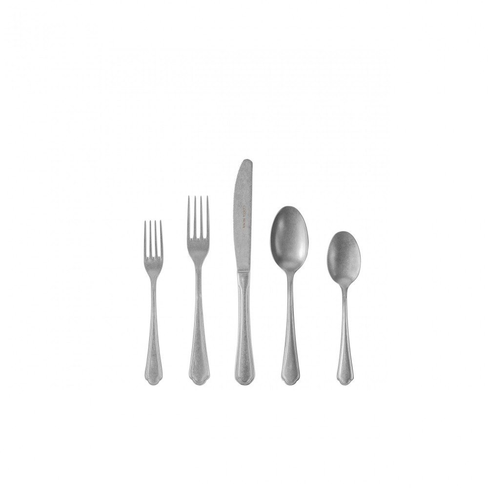 LAGO FLATWARE 5 PCS SET - MATTE