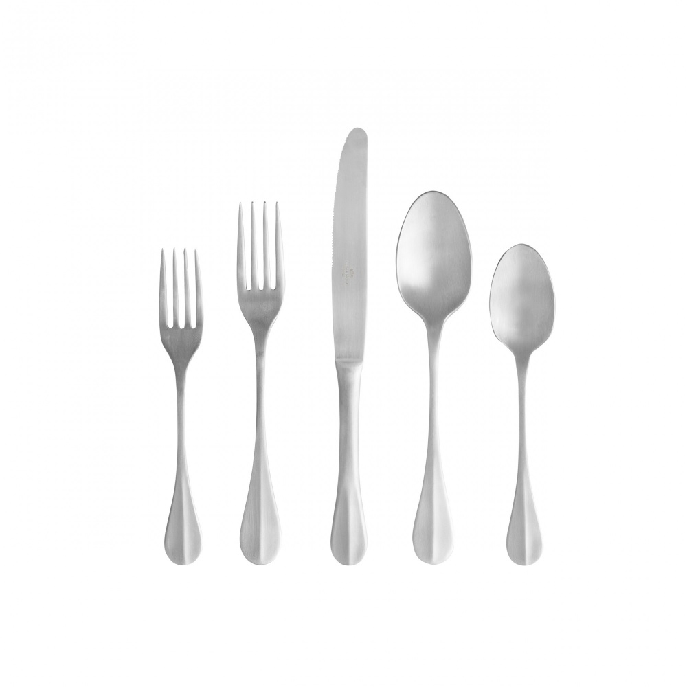 NAU FLATWARE 5 PCS - BRUSHED
