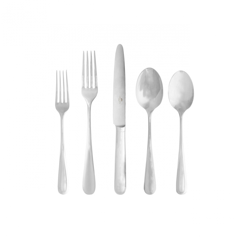 LUMI FLATWARE 5 PCS SET - POLISHED