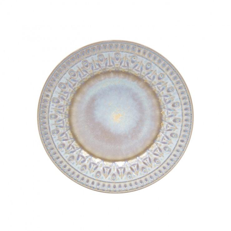 CRISTAL NACAR SALAD PLATE
