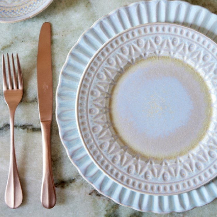 "DINNER PLATE 11"" CRISTAL"