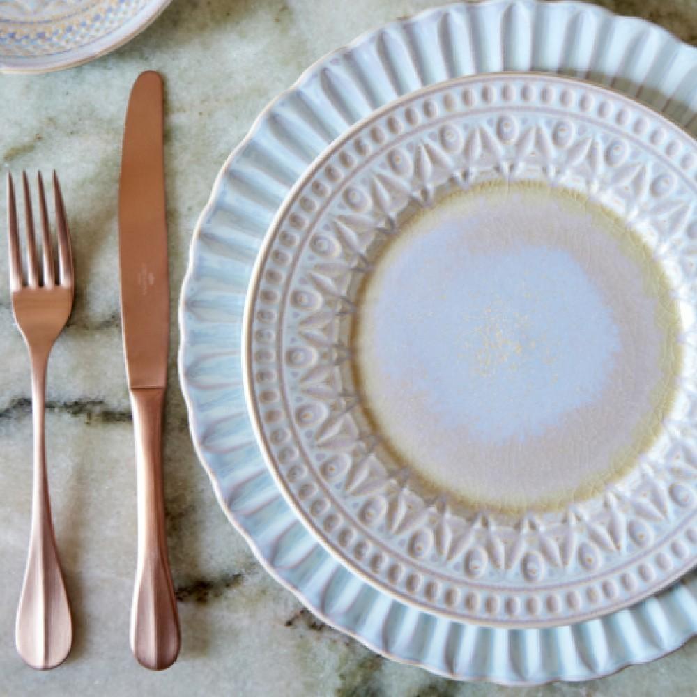CRISTAL NACAR DINNER PLATE