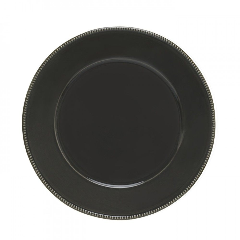 "ROUND CHARGER PLATE/PLATTER 13"" LUZIA"
