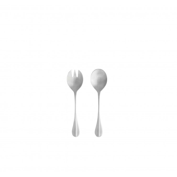 NAU FLATWARE SALAD SERVING SET 2 PCS.