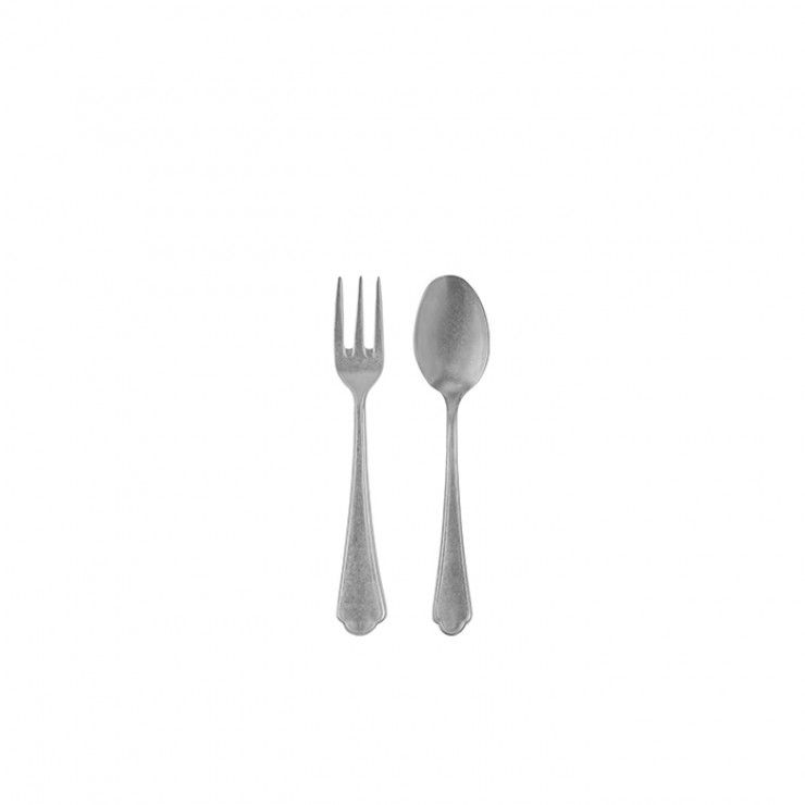 LAGO FLATWARE SALAD SERVING SET 2 PCS. - MATE