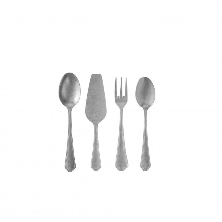 LAGO FLATWARE HOSTESSS SERVING SET 4 PCS. - MATE