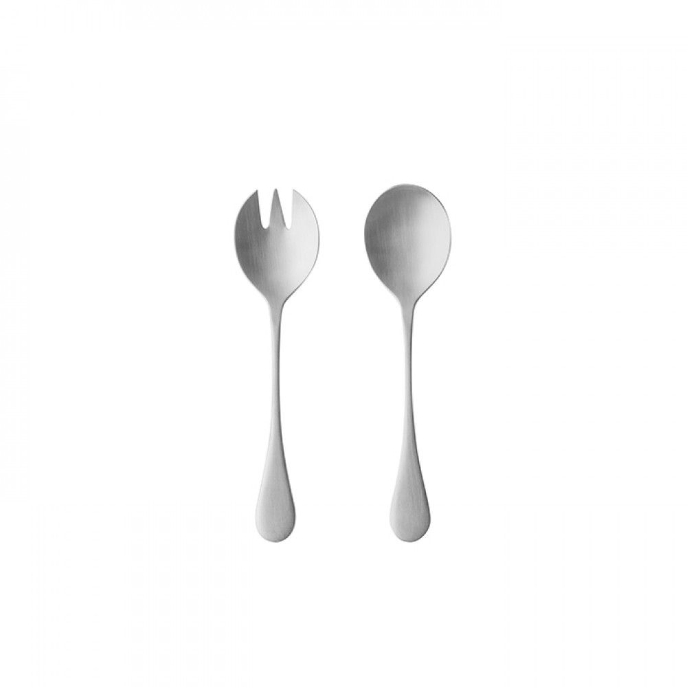 ANTIGO FLATWARE SALAD SERVING SET 2 PCS. - BRUSHED
