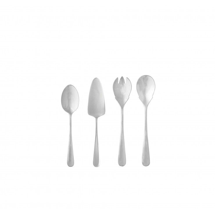 "CUBERTERÍA LUMI ""HOSTESSS SERVING SET"" 4 PIEZAS"