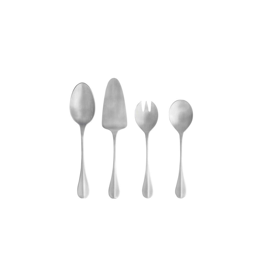 NAU FLATWARE HOSTESSS SERVING SET 4 PCS.
