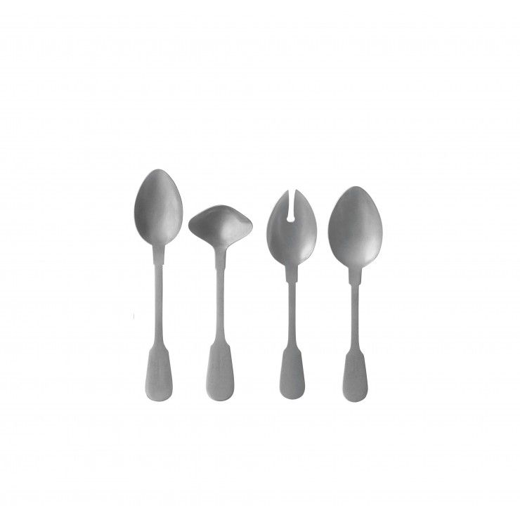 "CUBERTERÍA SAGA ""HOSTESSS SERVING SET"" 4 PIEZAS"