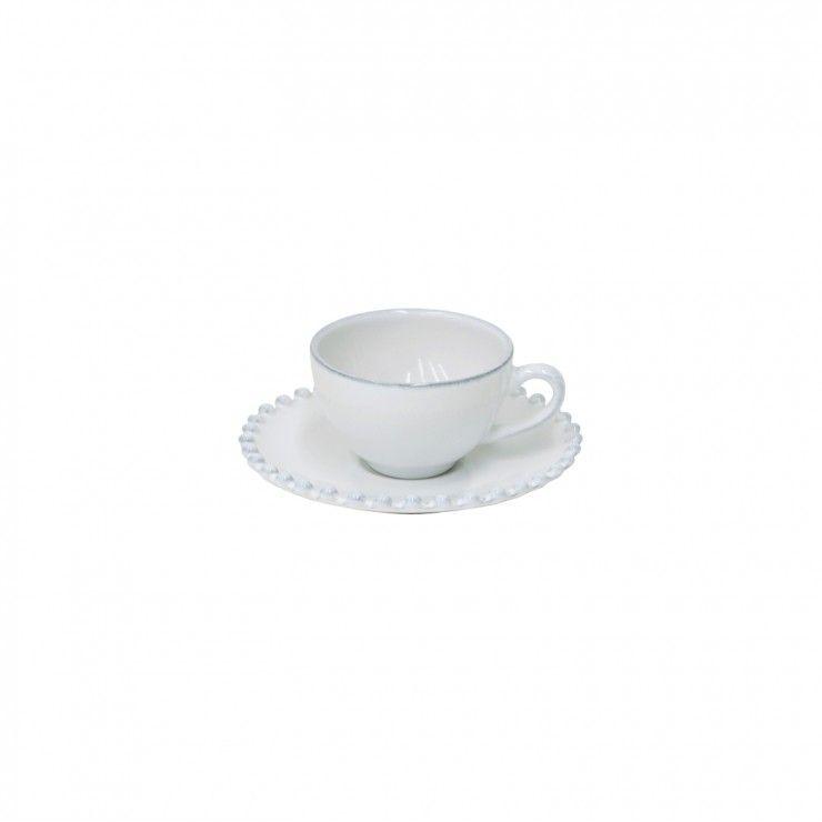 PEARL RUBI COFFEE CUP & SAUCER