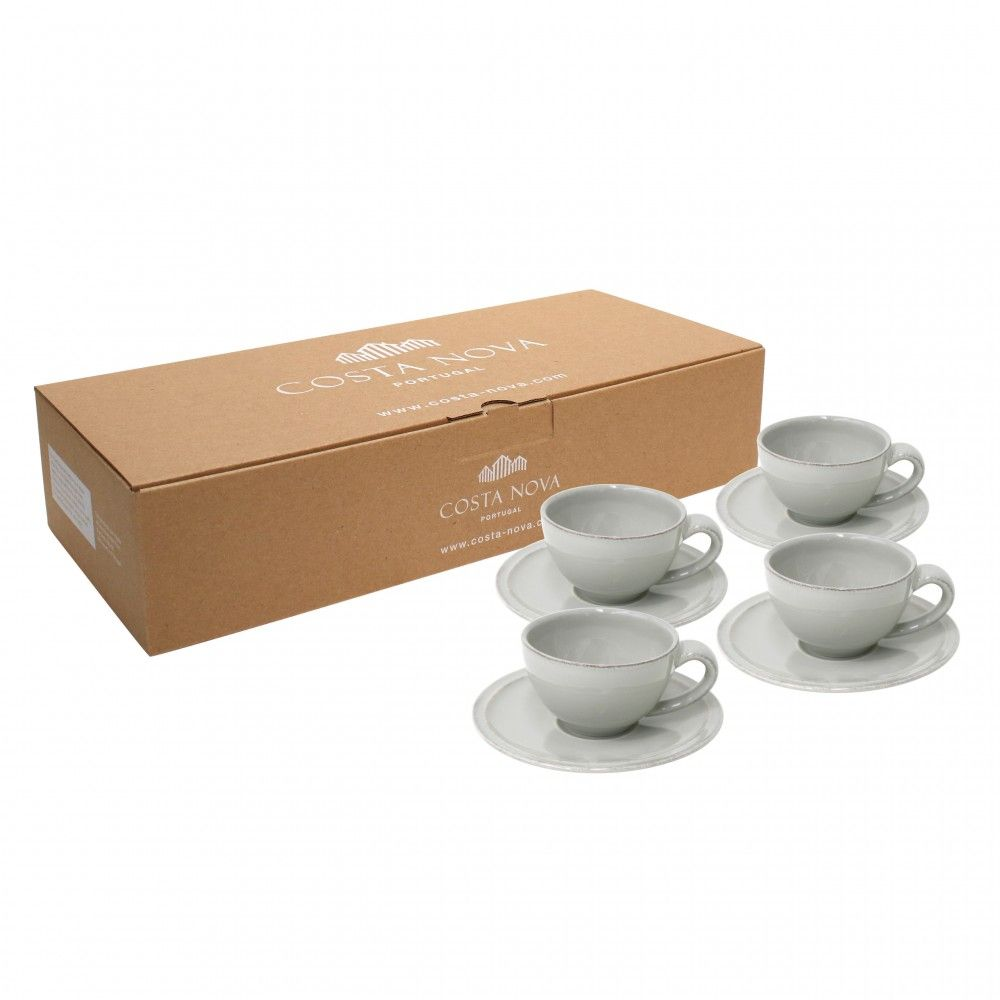 GIFT 4 COFFEE CUPS AND SAUCERS FRISO