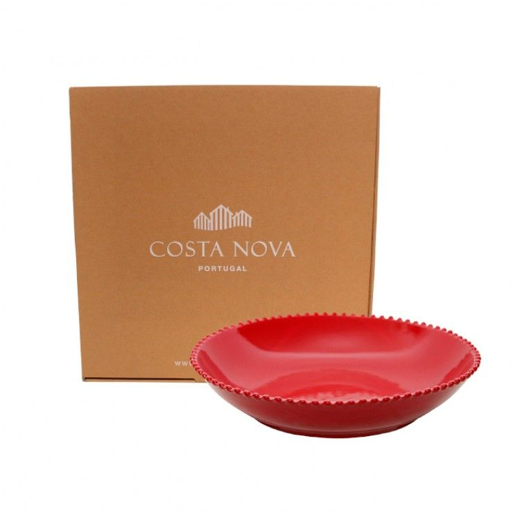 GIFT PASTA/SERVING BOWL PEARL RUBI