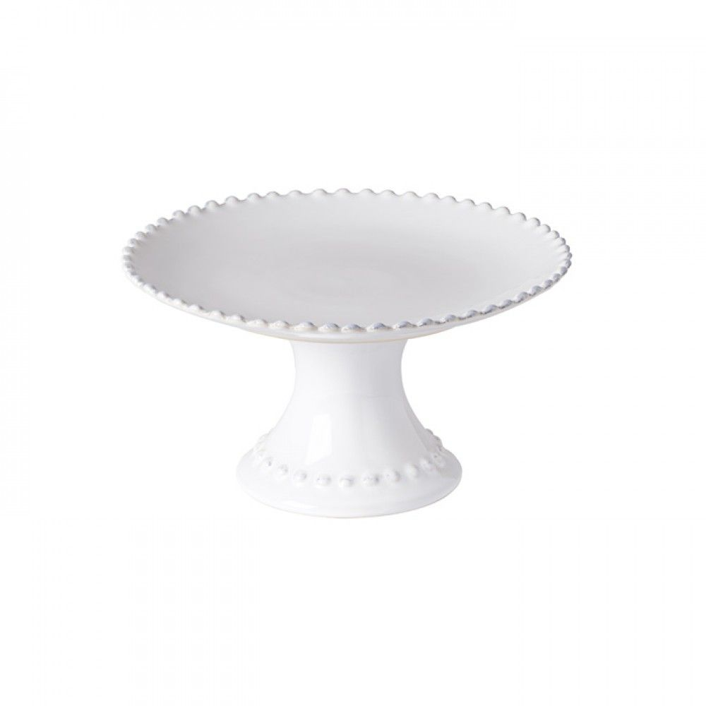 "FOOTED PLATE 9"" PEARL"