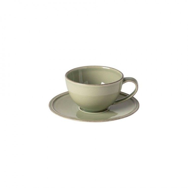 TEA CUP AND SAUCER 0.26 L FRISO