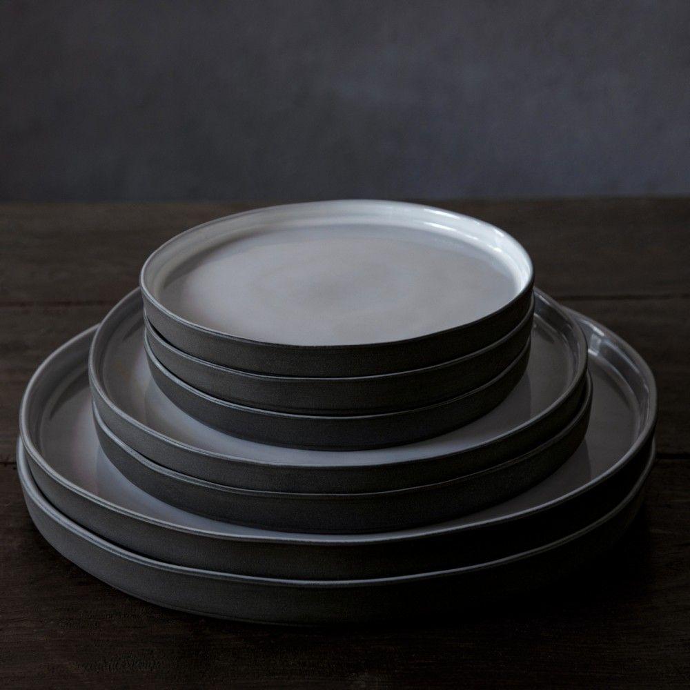 """SALAD/DESSERT PLATE 8"""" LAGOA ECOGRES"""