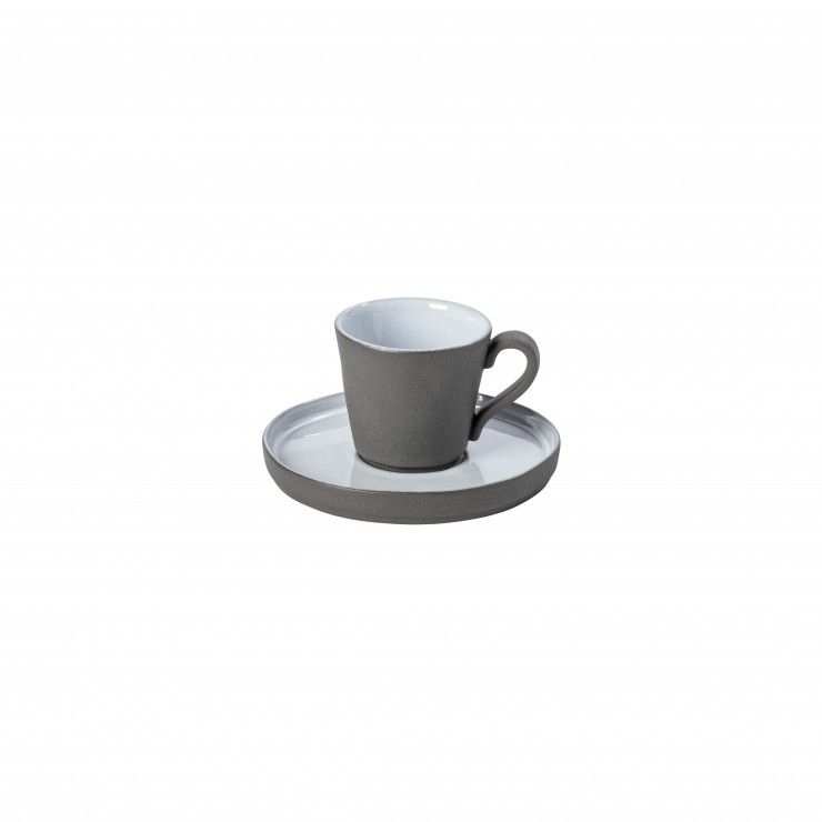 COFFEE CUP AND SAUCER 0.09 L LAGOA ECOGRES
