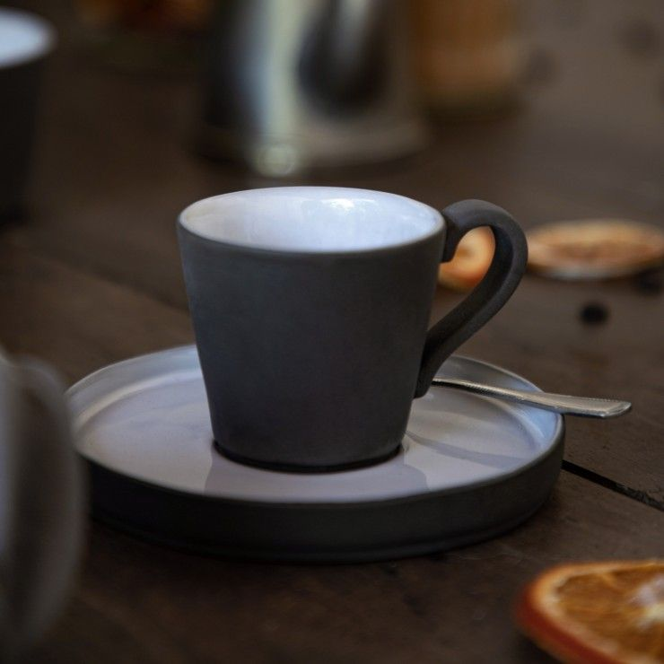 COFFEE CUP AND SAUCER 3 OZ. LAGOA ECOGRES