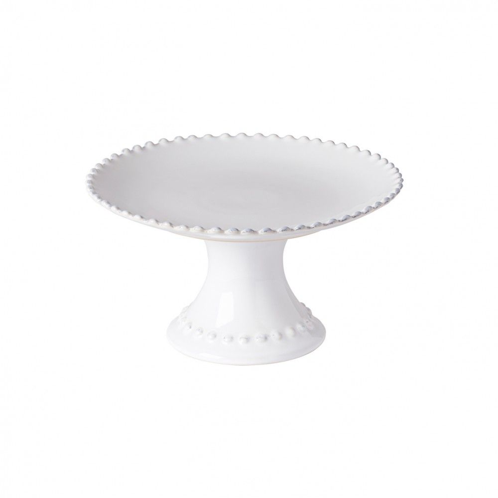 PEARL FOOTED PLATE 9""