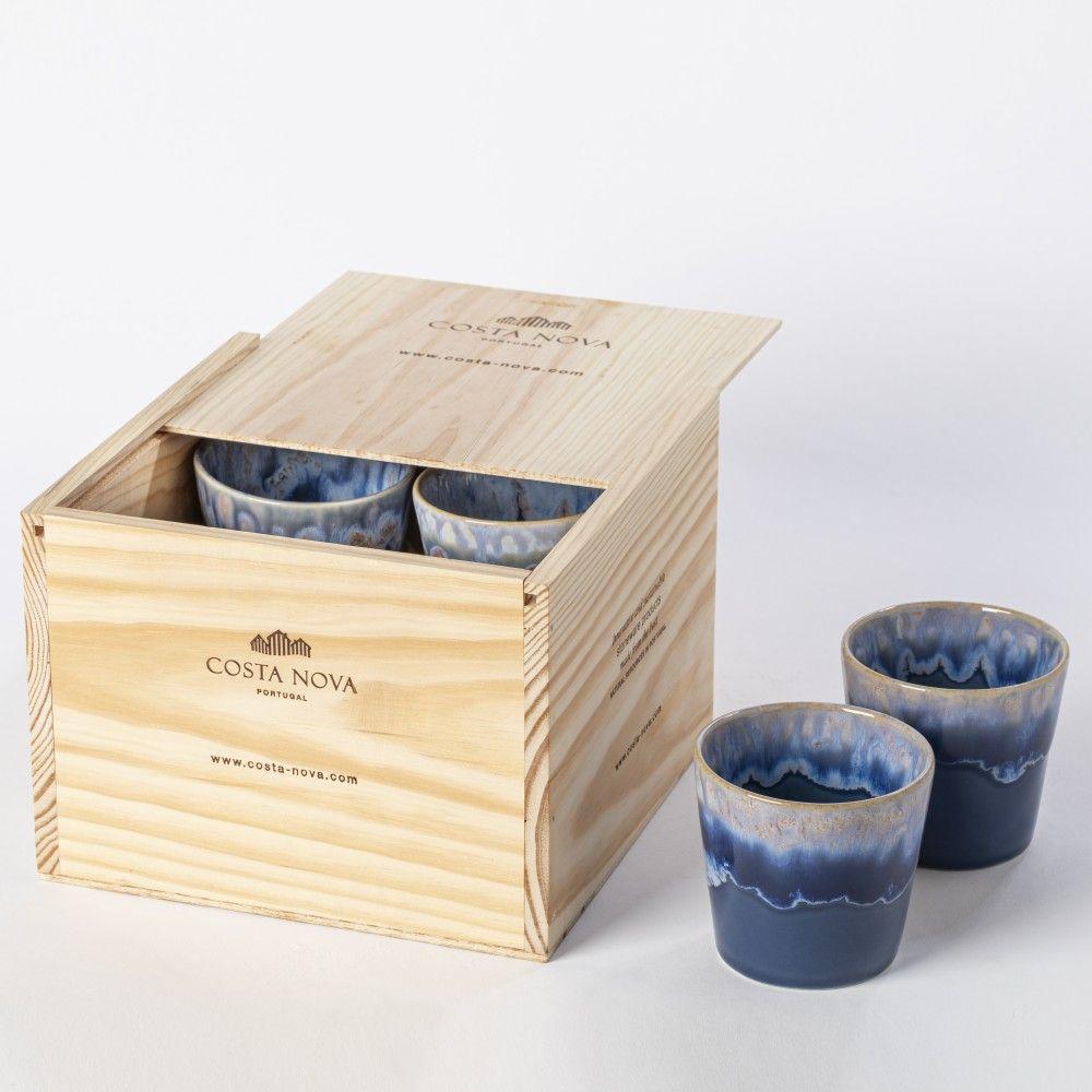 GIFT BOX 8 LUNGO CUPS GRESPRESSO