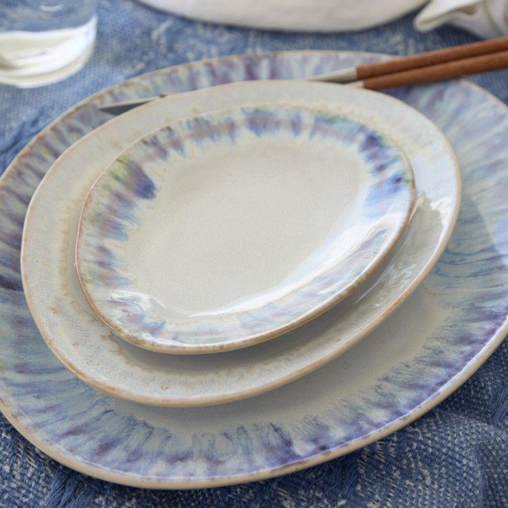 "OVAL PLATE 6"" BRISA"