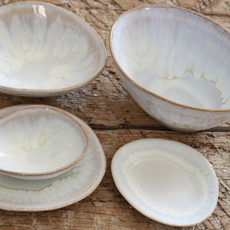 "OVAL SOUP/CEREAL BOWL 6"" BRISA"