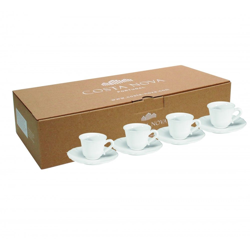 GIFT 4 COFFEE CUPS AND SAUCERS ALENTEJO