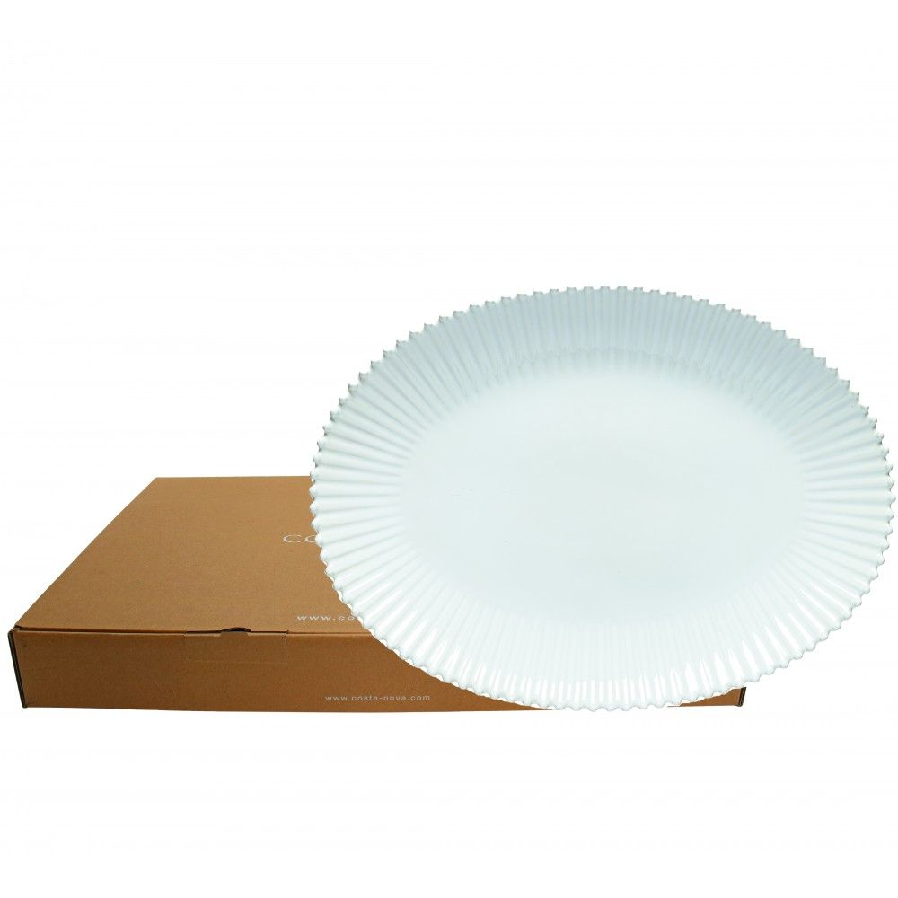 GIFT OVAL PLATTER PEARL