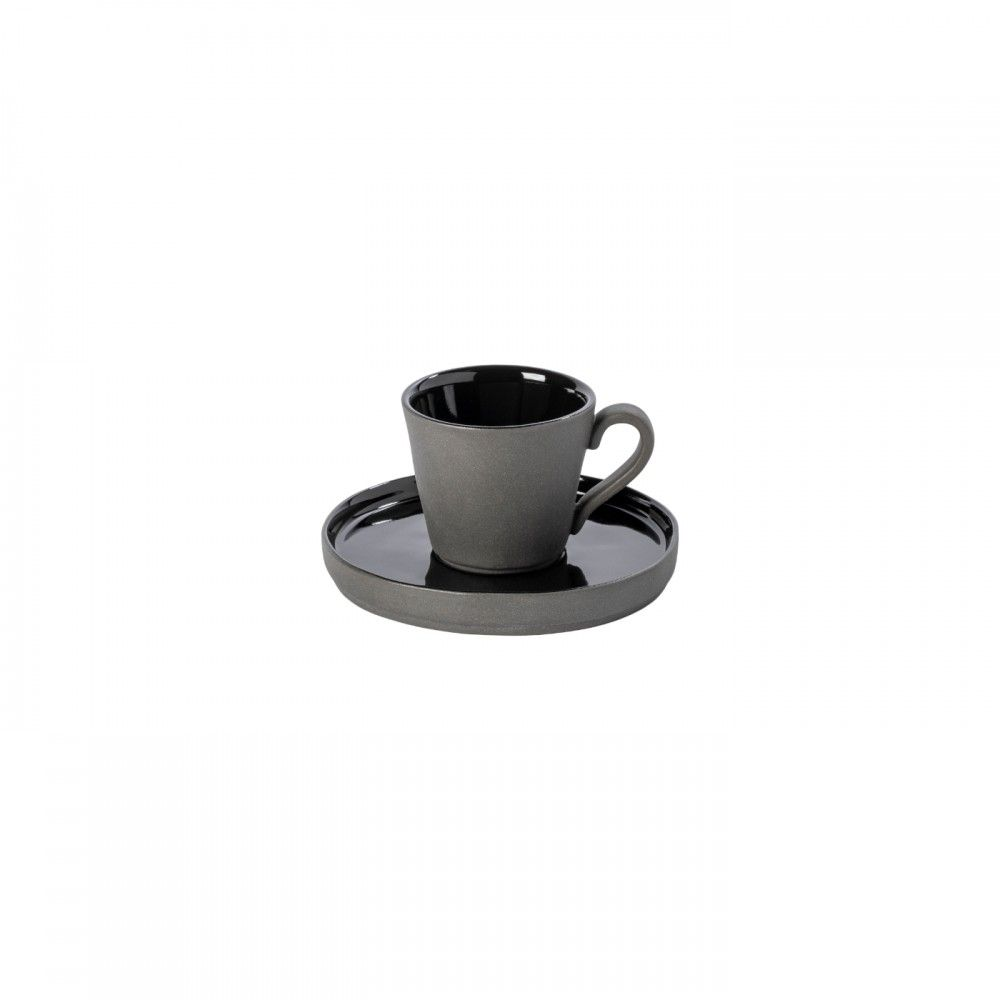 COFFEE CUP AND SAUCER 3 OZ. LAGOA ECO GRES
