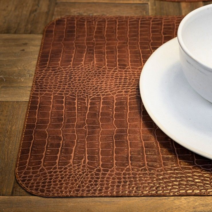 RECT. PLACEMAT 100% PU PLACEMATS COLLECTION