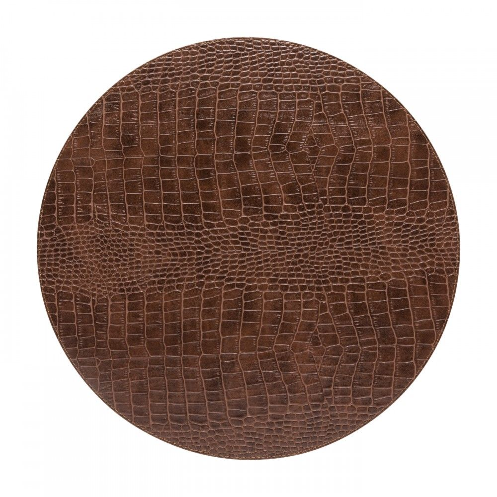 ROUND PLACEMAT 100% PU PLACEMATS COLLECTION