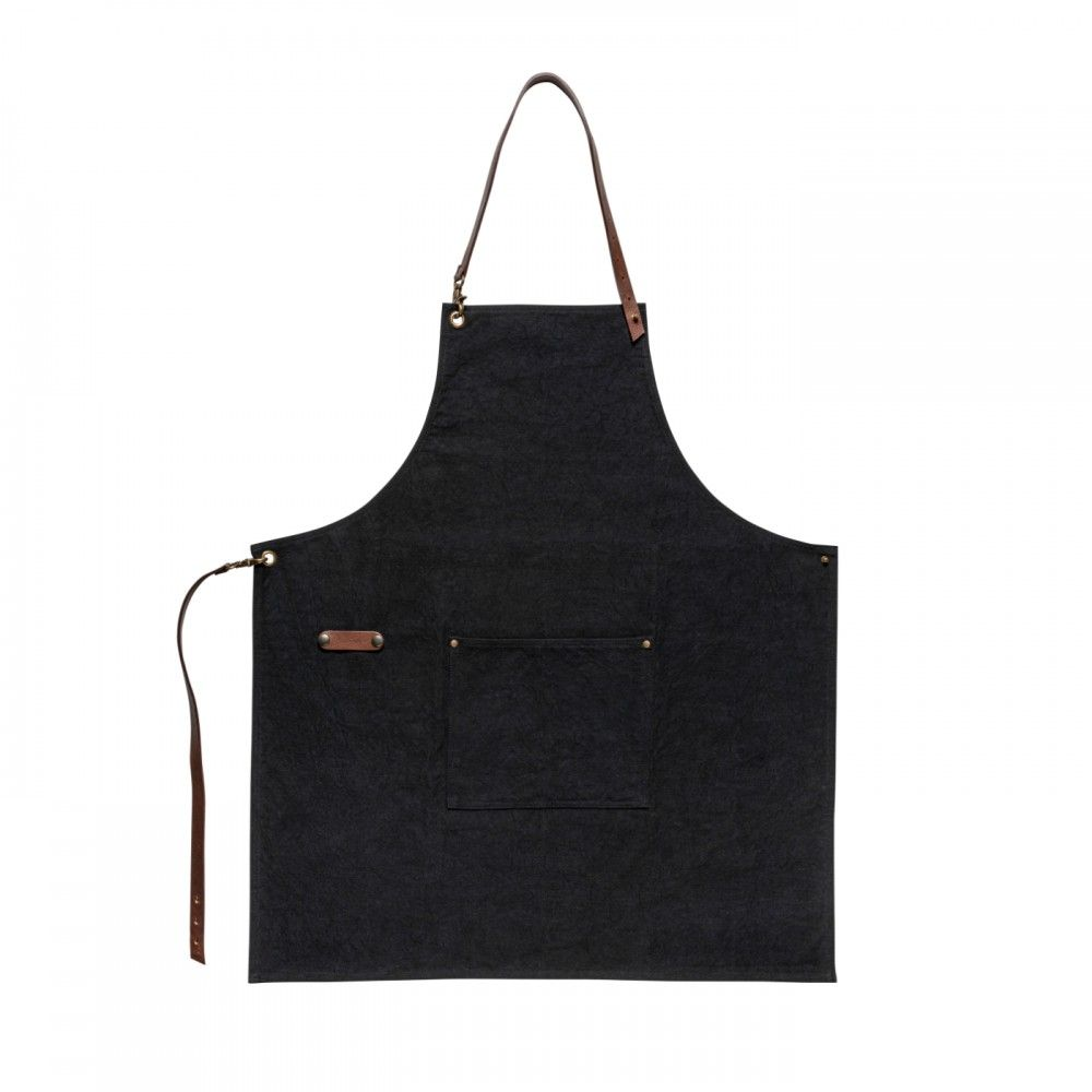 LEATHER AND COTTON APRON LEATHER COLLECTION