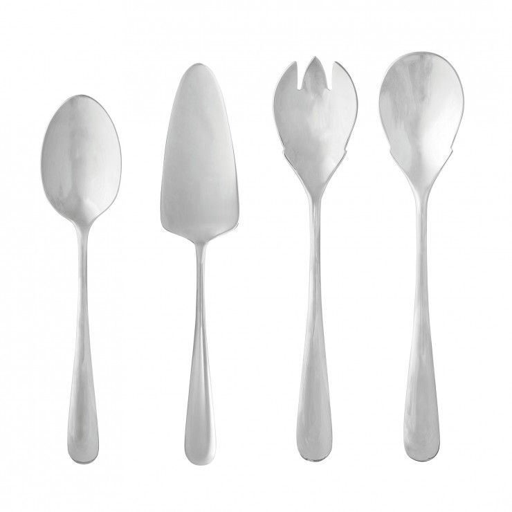 LUMI FLATWARE HOSTESSS SERVING SET 4 PCS.