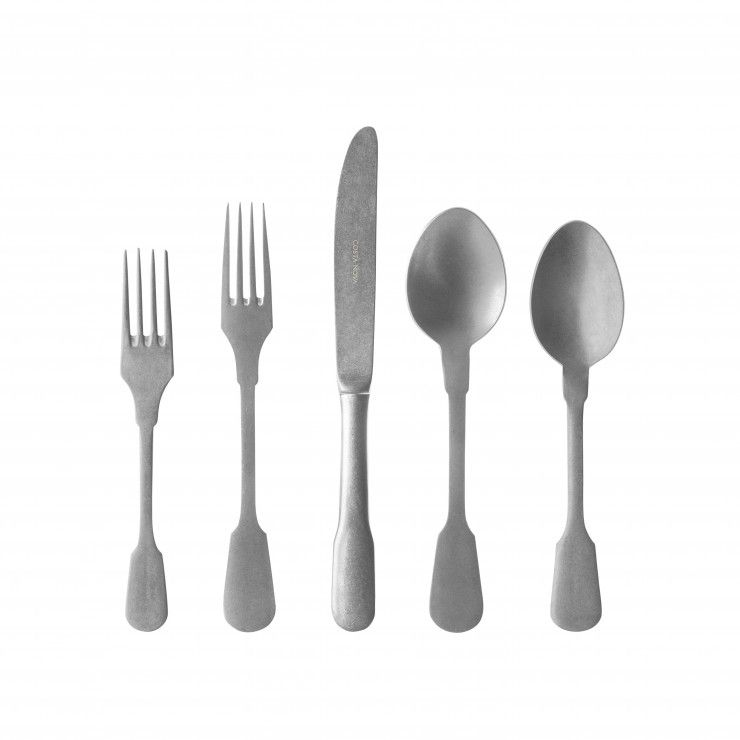 SAGA FLATWARE 5 PCS SET  - MATTE