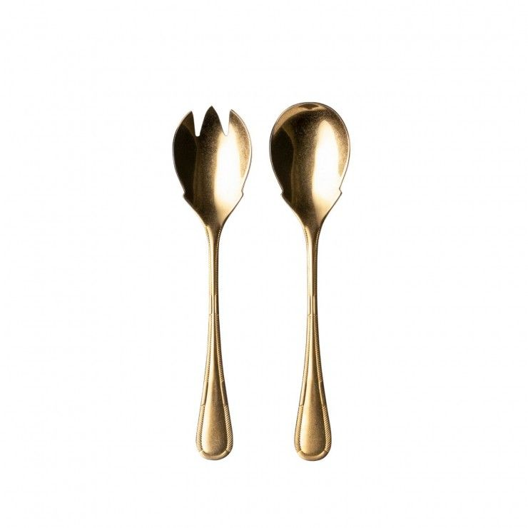 ANCESTRAL FLATWARE SALAD SERVING SET 2 PCS.