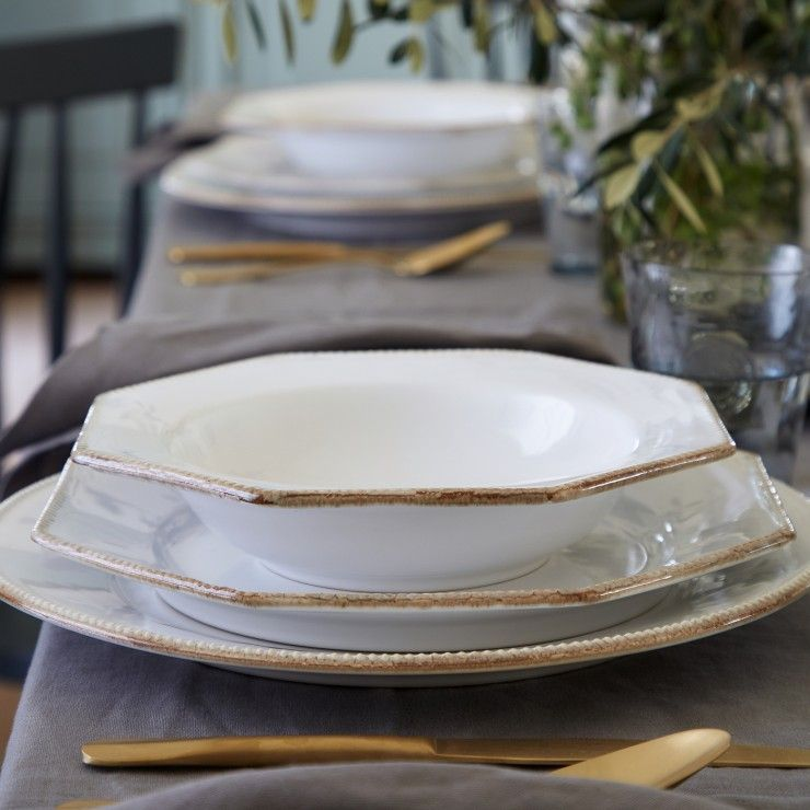 """ROUND CHARGER PLATE/PLATTER 13"""" LUZIA"""