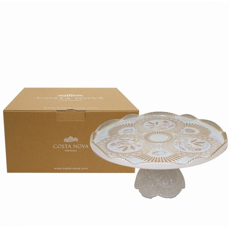 GIFT FOOTED PLATE 30 CRISTAL
